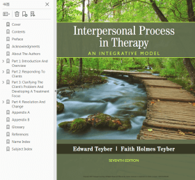 Interpersonal Process in Therapy: An