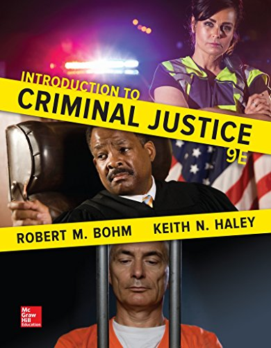 Introduction to Criminal Justice  Ro