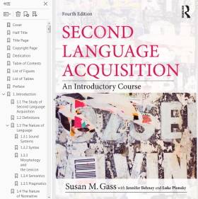 Second Language Acquisition An Intro