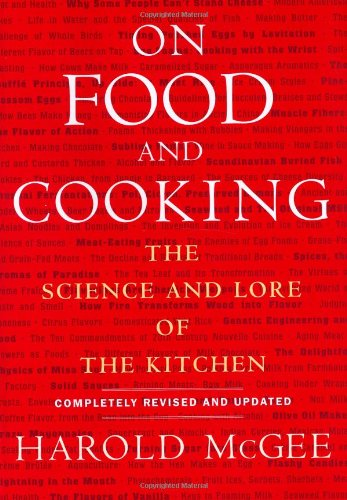 on food and cooking Harold McG