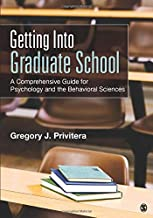 Getting Into Graduate School D