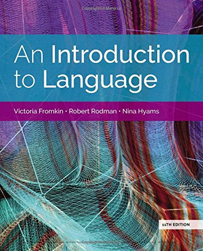 An Introduction to Language 11th Vic
