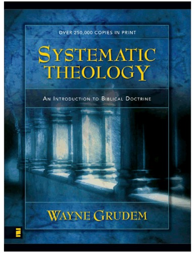 Systematic theology  an introduction