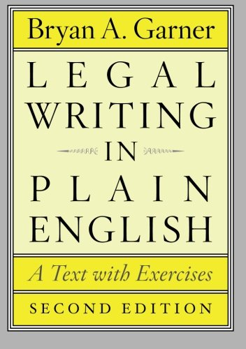Legal Writing in Plain English, - Br