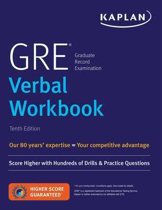GRE Verbal Workbook  Ka
