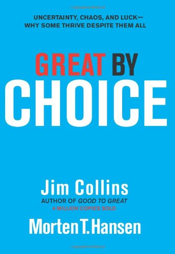 Great by Choice  	Jim Collins