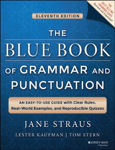 Blue Book of Grammar and Punctuati